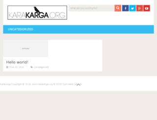 karakarga.org screenshot