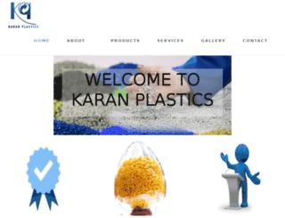karanplastic.com screenshot