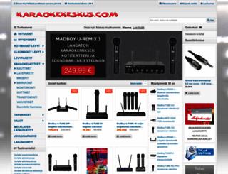 karaokekeskus.com screenshot