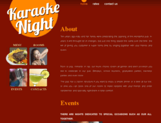 karaokenight.eu screenshot