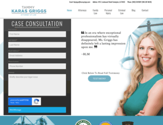 karasgriggs.com screenshot