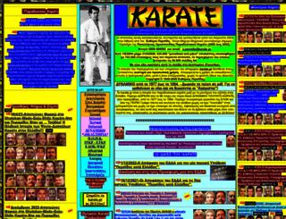 karate.gr screenshot