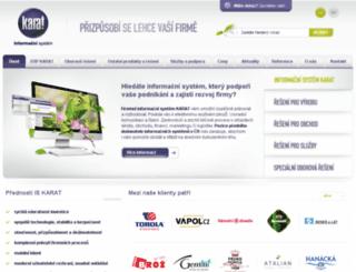 karatsoftware.cz screenshot