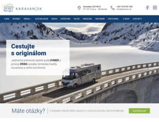 karavan.sk screenshot