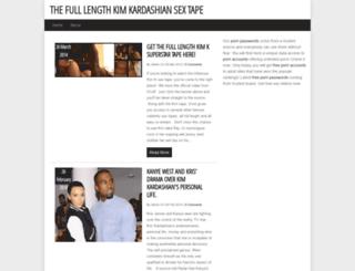 kardashianleak.com screenshot