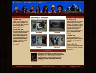 karel-may.majerco.net screenshot