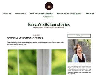 karenskitchenstories.com screenshot