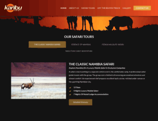 karibunamibia.com screenshot