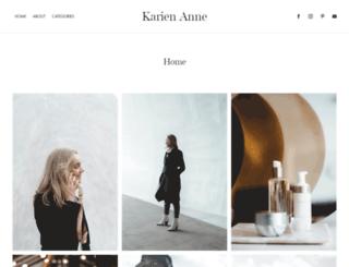 karienanne.com screenshot