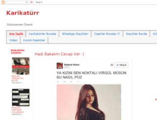 karikaturrkulubunn.blogspot.com.tr screenshot