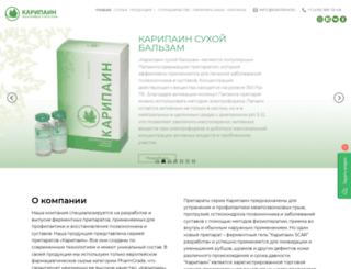 karipain.ru screenshot