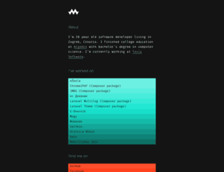 karlomikus.com screenshot