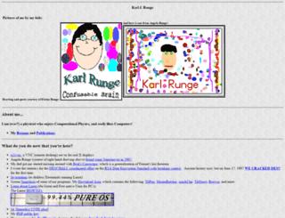 karlrunge.com screenshot