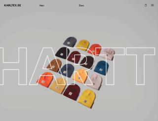 karltex.se screenshot