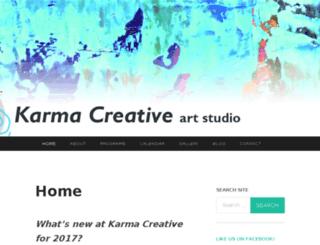 karma-creative.ca screenshot