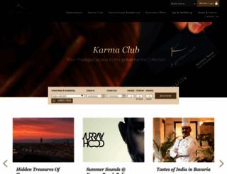 karmaroyalgroup.com screenshot
