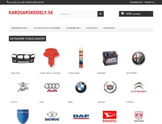 karosarskediely.sk screenshot