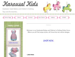 karouselkids.com.au screenshot
