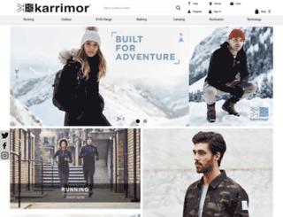 karrimor.com screenshot