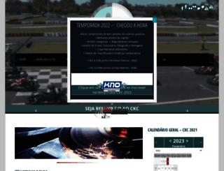 kartcampinas.com.br screenshot
