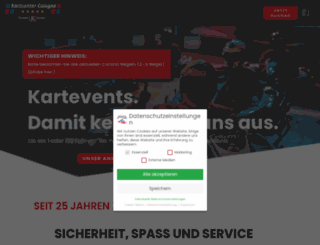 kartcenter-cologne.de screenshot