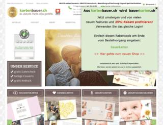 kartenbauer-an.ch screenshot