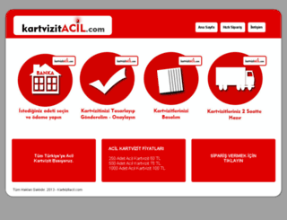 kartvizitacil.com screenshot