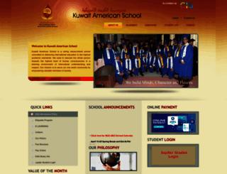kas.edu.kw screenshot