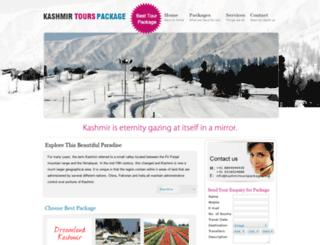 kashmirtourspackages.org screenshot