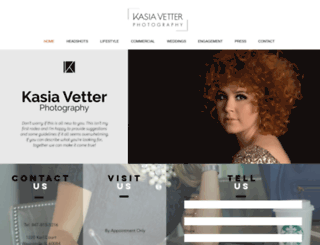 kasiavetterphotography.com screenshot