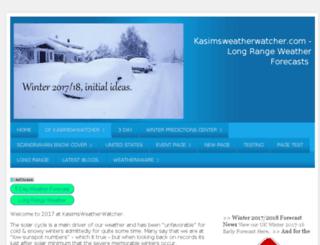 kasimsweatherwatcher.com screenshot