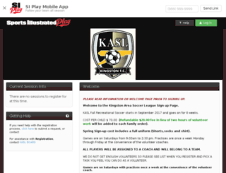 kaslsoccer.sportssignupapp.com screenshot