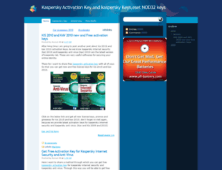 kaspersky-activation-key.blogspot.com screenshot
