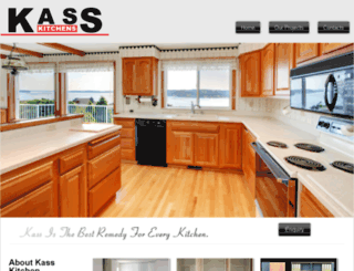 kasskitchens.com.au screenshot