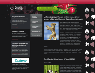 kasyno.konin.pl screenshot
