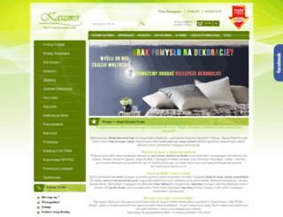 kaszmir-firany.pl screenshot