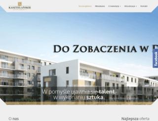 kasztelanskie.eu screenshot