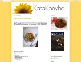 katakonyha.blogspot.hu screenshot