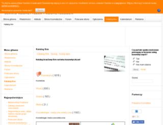 katalog.kosmetyczki.net screenshot