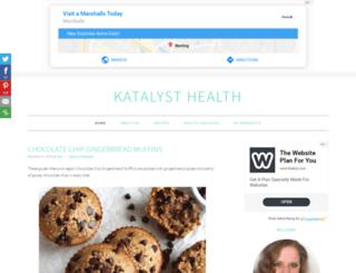 katalysthealthblog.com screenshot