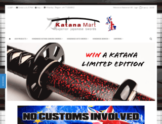 katanamart.co.uk screenshot