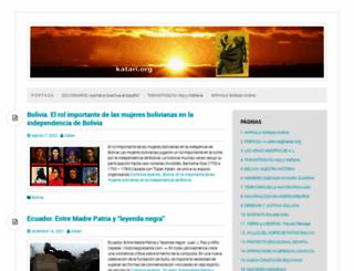 katari.org screenshot