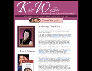 kate-walker.com screenshot