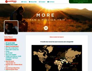 katenixon.theworldrace.org screenshot