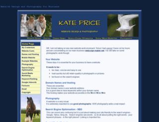 kateprice.co.uk screenshot
