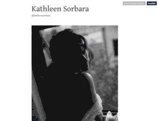 kathleensorbara.tumblr.com screenshot