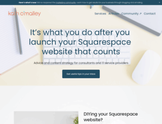 kathomalley.com screenshot