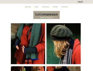 katiemawson.com screenshot