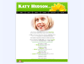katyhudson.ca screenshot