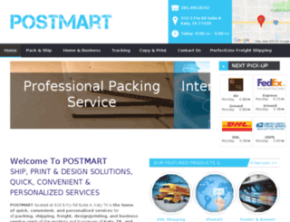 katypostmart.com screenshot